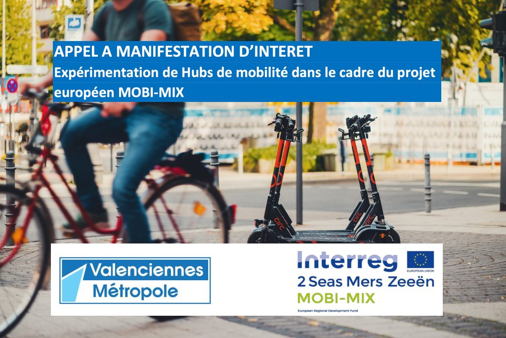 AMI MOBI-MIX : expérimentations hubs mobilité