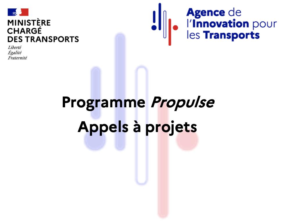 4 appels à projets pour le programme Propulse de l'AIT